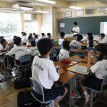 浦安中学校の社会人講座の講師協力について