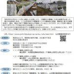 【台風15・19号】山武地域の農業ボランティア募集情報